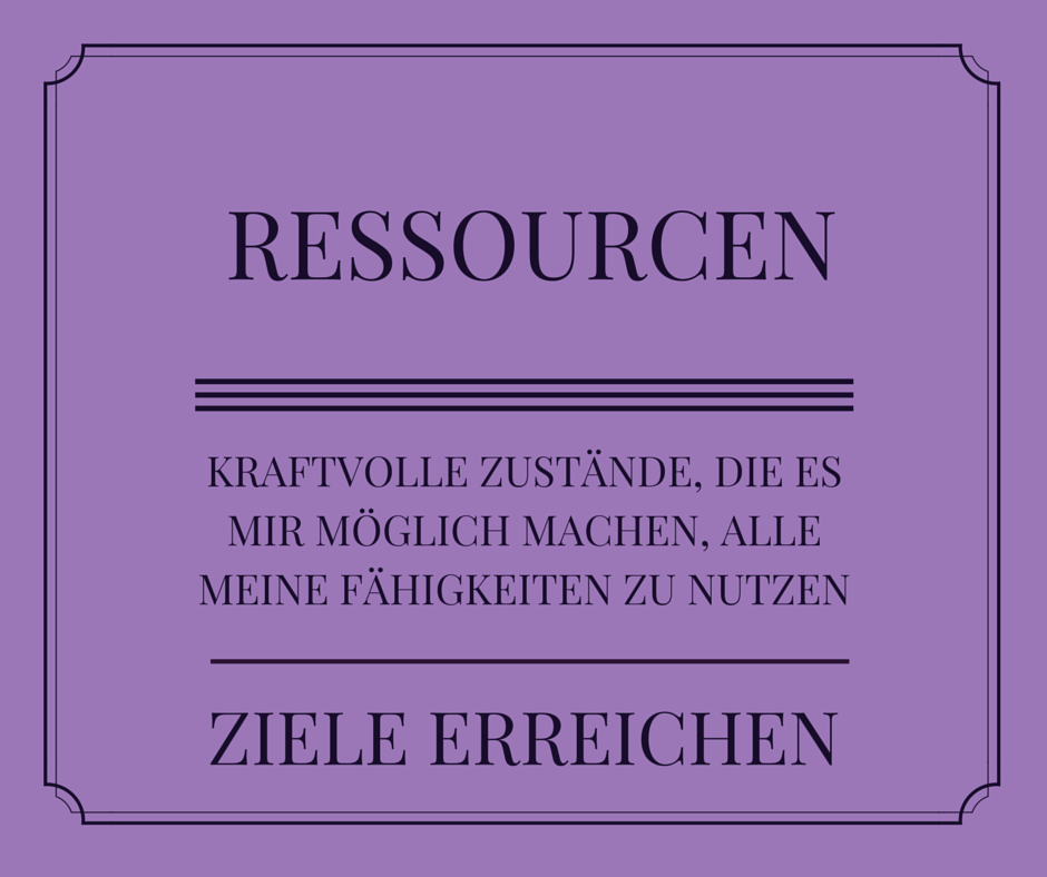 Ressourcevoll leben – Ankertechniken nutzen